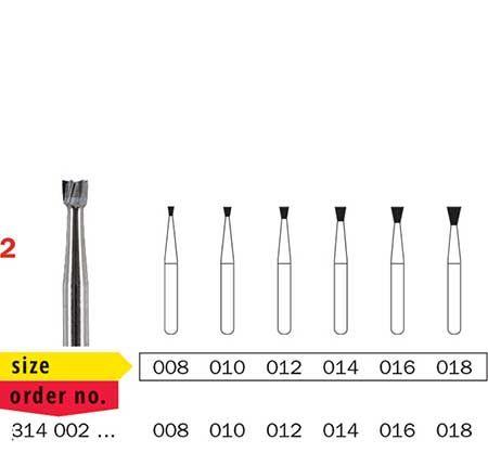 Diaswiss FG Tungsten Carbide Inverted Cone