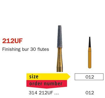 Diaswiss FG T/Carbide Finishing 30 Fluted 212UF/01