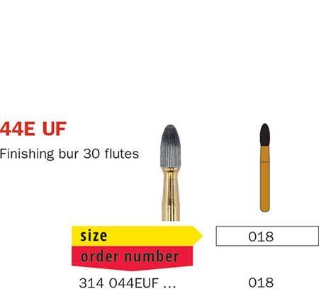 Diaswiss FG T/Carbide Finishing 30 Fluted 44EUF/01