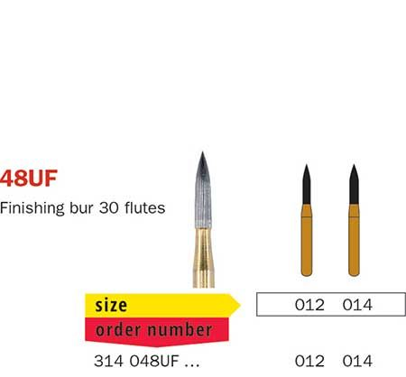 Diaswiss FG T/Carbide Finishing 48UF