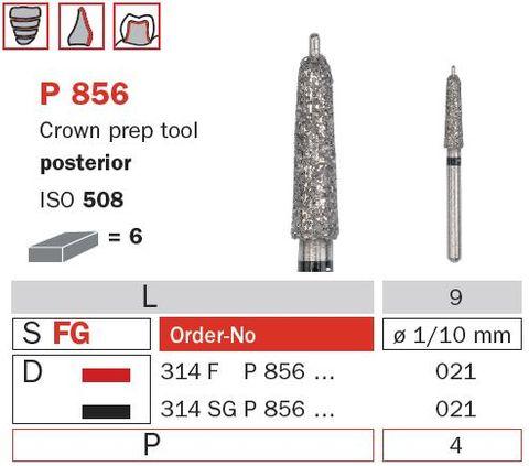 Crown Prep w/ Guide Pin Posterior P856