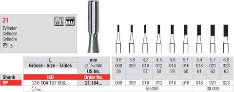 Edenta HP Steel Fissure 21/008