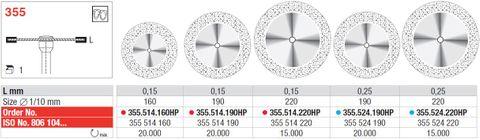 Edenta Superflex Diamond Disc 355