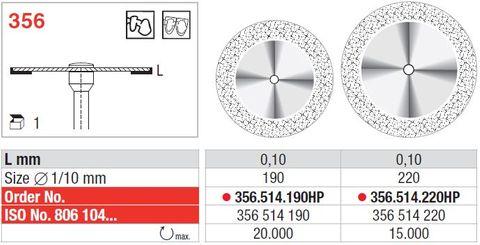 Edenta Superflex Diamond Disc 356