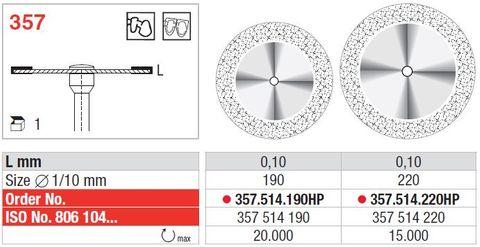 Edenta Superflex Diamond Disc 357