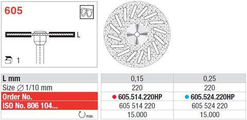 Edenta Superflex Diamond Disc 605