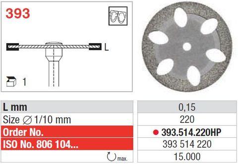 Edenta Superflex Diamond Disc 393/220 FIne