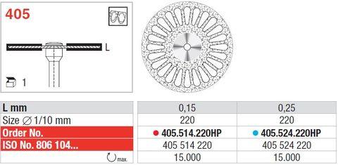 Edenta Superflex Diamond Disc 405