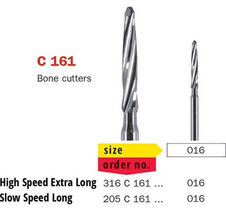 Surgical Bur Lindemann X-Long Tapered C161
