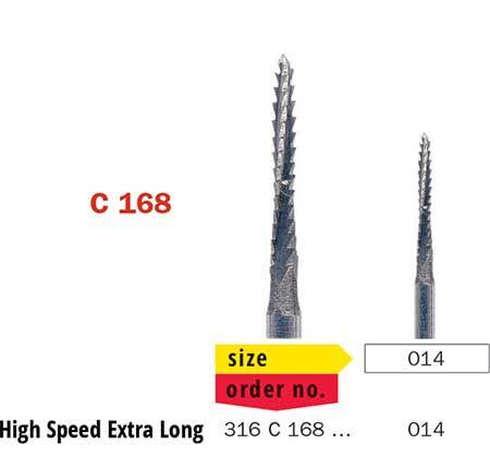 Diaswiss FG Surgical BoneCutter X-Long C168/014