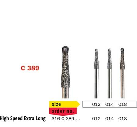 Surgical Bur BoneCutter Extra Long C389