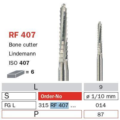 Diaswiss FG Surgical Diamond Long RF407/014