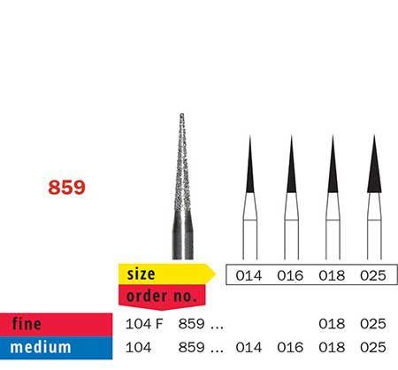 Diaswiss HP Diamond Long Needle