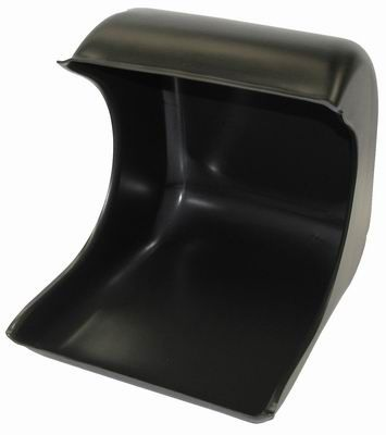 Black Polishing Hood/Splash Guard (Plastic)