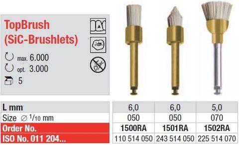 Edenta Silicone Polishing Brush 1502RA (Pack of 5)