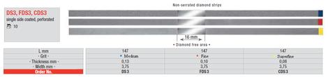 Edenta Diamond Strips Medium DS3 3.75mm