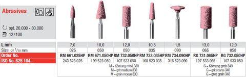 Edenta Pink Abrasives 733.035 (Box of 100)