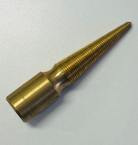 Brass Tapered Spindle - Left Handed