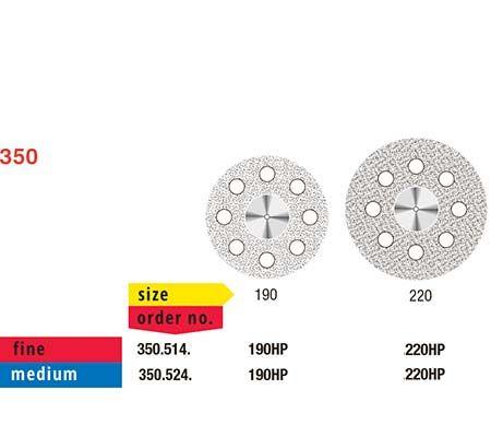 Fis Proflex Diamond Disc 350/220 Medium