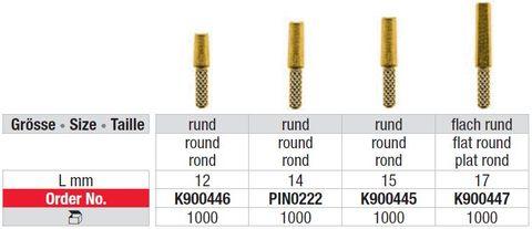 Edenta Tail Pin 0215