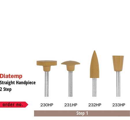 Diaswiss Diatemp Polishing K/Edge Wheel Step 1 231