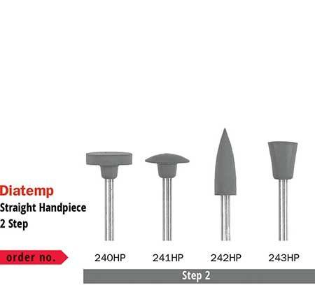 Diaswiss Diatemp Polishing Wheel Step 2 240HP