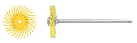 Bellfix Nylon Brush Unmounted Coarse Yellow 19mm