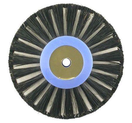 Bellotti Triple Row Brush w/Fabric Insert 80mm