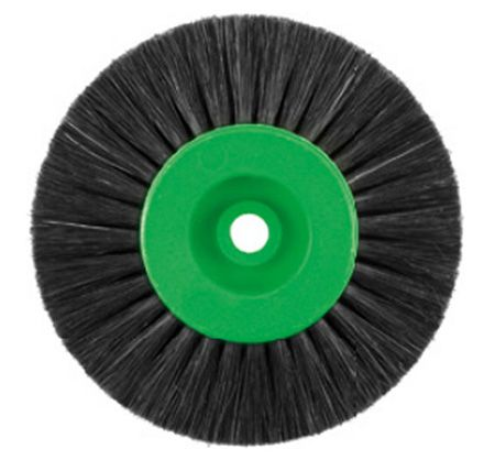 Bellotti 4-Row Lathe Brush Non-Converging 80mm