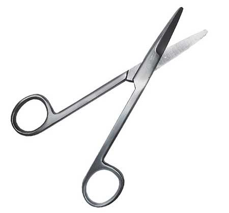 Argus Mayo Operating Scissor Straight 15.5cm