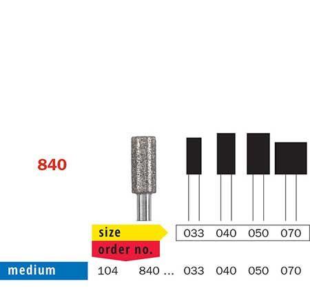 Diaswiss HP Diamond Flat Fissure 840