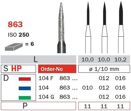 Diaswiss HP Diamond Long Flame