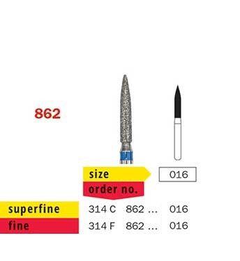 Prima FG Flame Diamond 862/016 Fine