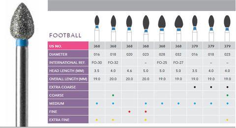 Prima FG Football Diamond 368/018 Medium