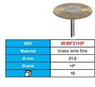 Stoddard Brass Wire Brush Fine (Pkt 10)