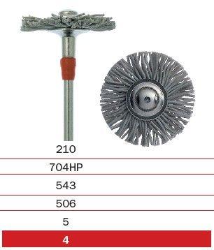 Diaswiss Silicone Polishing Brush for Metal 21mm