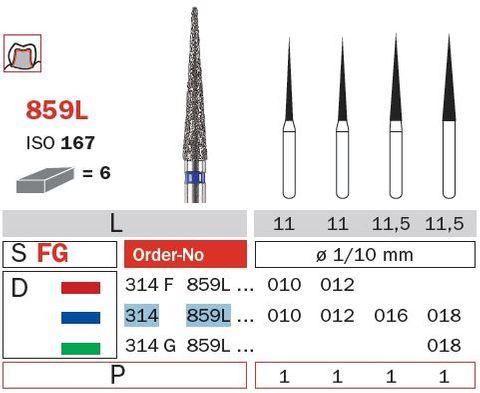 Diaswiss FG Long Needle