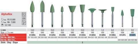 Edenta Alphaflex Polishing Cup 0155FG High Shine
