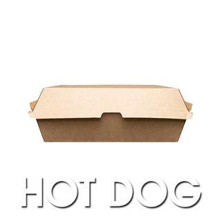 Enviro Hot Dog Box (208x70x75mm) ABHD