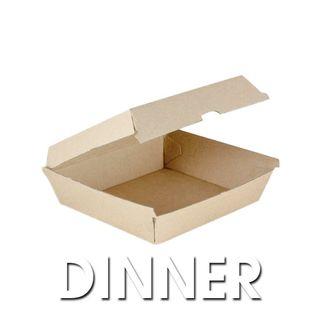 Enviro Dinner Box (178x160x80mm) ABDB