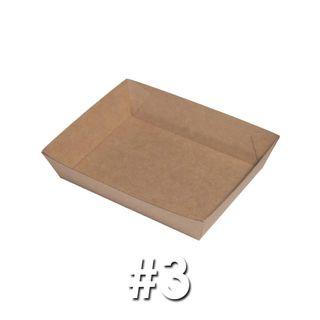Enviro Food Tray #3 (180X134X45mm) ABT3
