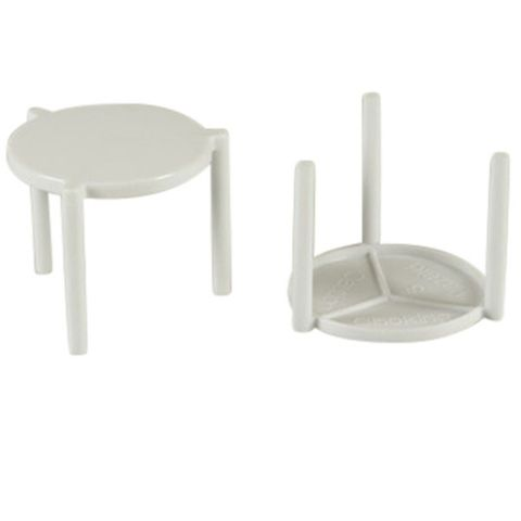 White Pizza Tables/Stands