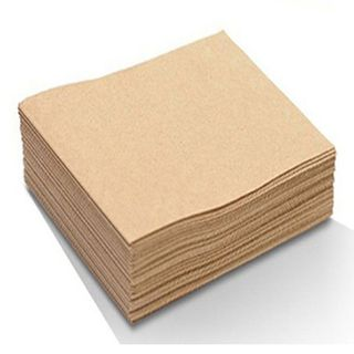 Bio Recycled Brown 2Ply Lunch Napkin BN30P