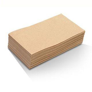 Bio Recycled Brown 2Ply GT 1/8 Fold Dinner Napkin BN40GT (L-DN1/8-N)