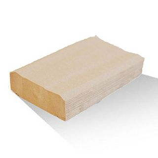 Bio Recycled Brown 1Ply Dispenser Napkin BND24