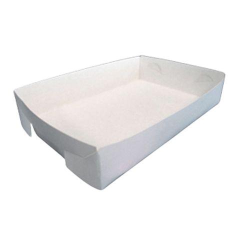 No 19 Cake Tray 130x130x45mm Milkboard