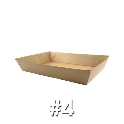Enviro Food Tray #4 (225X152X45mm) ABT4