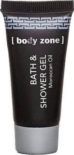 Body Zone Black 20ml Bath & Shower Gel (BOZ-TUDG020)