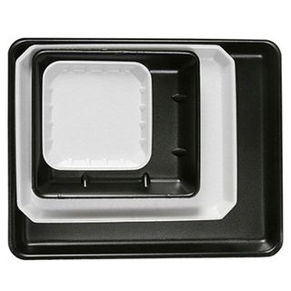 FST55 5x5 Takeaway Food Tray - Black