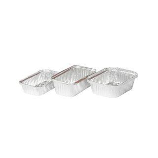 446/7119 - Medium Rectangular Foil Container - 30oz
